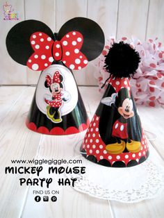 Mickey Party Hat. Visit us at www.wigglegiggle.com