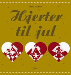 Hearts for Christmas.  This is a unique Danish papercut tradition invented by the well-know Danish fairytale writer Hans Christian Andersen around 150 years ago. Basically, a Christmas heart consists of two pieces of folded glossy paper of different colours which are cut and woven together so that they form the shape of a heart. Click through to order the book of patterns.