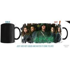 Arrow TV Series Cast Morphing Mug I need. This. I need it soooo badly. I need this right now in my life.