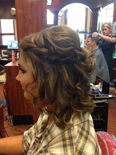 Simple hair style
