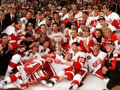 1996-97 Detroit Red Wings, Stanley Cup Champions