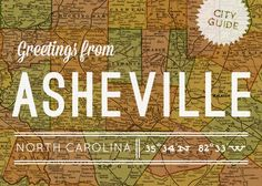 Asheville, NC - great list of places to see, things to do, antique shops,, and restaurants