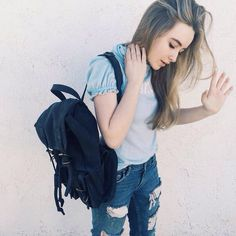 Jeans, blue daily look cool