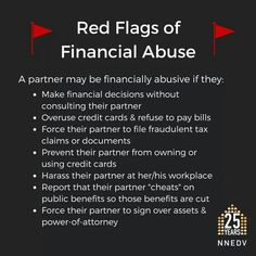 Financial abuse