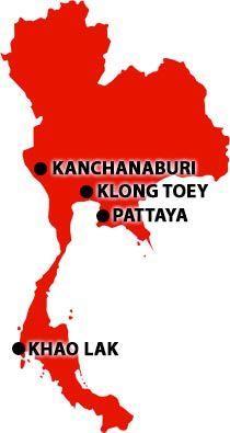 Pattaya- location of Step Ahead office