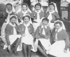 Nursing Pictures, Vintage Nurse, World War One, British Army, Red Cross, Nurses, Wwii, 1940s, Archive