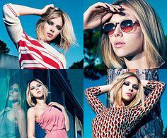 Scarlett Johansson for Mango, Spring Summer 2011 #fashion #photography