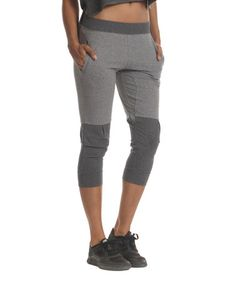 Another great find on #zulily! Heather Gray Swag Sweatshirt Capris by Colosseum #zulilyfinds