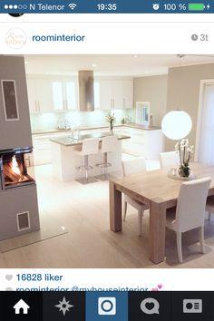 21 Modern Kitchen Area Suggestions Every Home Prepare Needs to See Küchen Design, Design Case, House Design, Design Ideas, Style At Home, Kitchen Interior, Kitchen Decor, Kitchen Layout, Home Interior