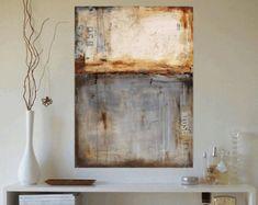 Malerei abstrakte Malerei. Landschaftsmalerei von jolinaanthony