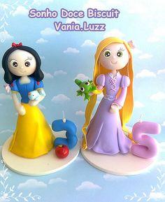 Branca de Neve e Rapunzel =)