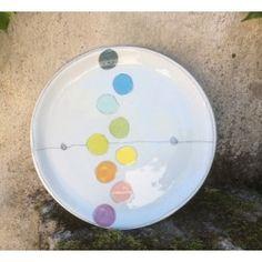 Plat à tarte céramique blanche, La palette 3.0