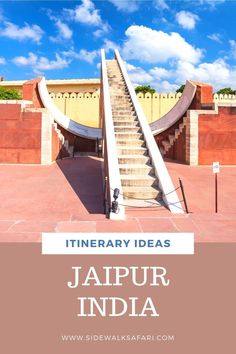Looking for India itinerary ideas? Spend 3 days in Jaipur on the Golden Triangle. All Over The World, Around The Worlds, Golden Triangle, Jaipur India, India Travel, Incredible India, World Heritage Sites, The Incredibles, Explore