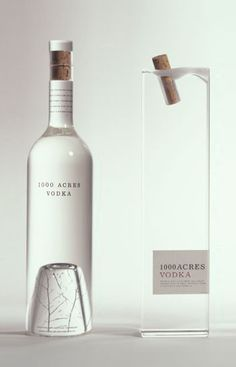 1000 Acres VODKA Product Design #productdesign Packaging Design #packagingdesign #primedesign