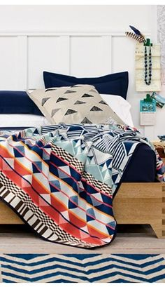 For my guest bedroom, the Southern Highlands Blanket Collection