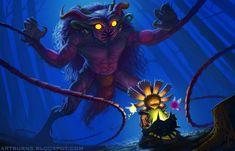 Mike Burns Illustration: The Temptation of Majora