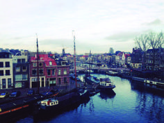"Dreamy Leiden. ""It's unreal that in just three months I'll refer to all of this as 'those four months I lived in Europe.'"""