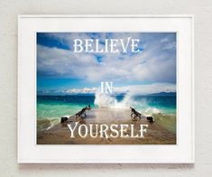 "Thanks for the kind words! ★★★★★ ""Love it!!!!!!!Beautiful colors!!!!Super!!!!Thank you very much!!!"" Wim https://etsy.me/2MmB85I #etsy #art #print #digital #believeinyourself #motivationalquotes #beachprintable #oceanwaves #inspirationalwall #printablewallart"