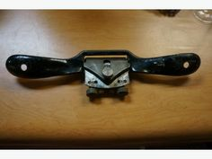 Vintage Wood workers Spoke Shave #15 Made in Canada (I-50478)