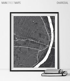 St. Louis Map Print St. Louis Poster of Missouri by MainStreetMaps https://www.etsy.com/listing/226871012/st-louis-map-print-st-louis-poster-of?ref=shop_home_active_14