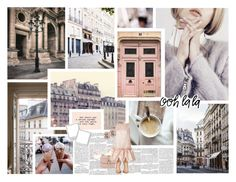 """PARIS"" by glittergirlxy ❤ liked on Polyvore featuring Dauphine, Zara, Pottery Barn, Chloé, Valentino, Osman, Gianvito Rossi, Winter, city and ootd"