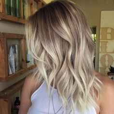 Ombre, Balayage Hairstyles for Women, Girls - Shoulder Length Haircut Designs