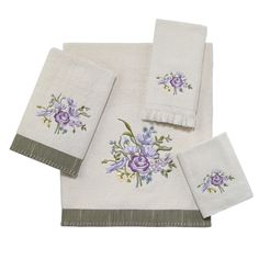 Secret Garden 4 Piece Towel Set