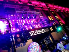 We're all waiting patiently front of The Selfridges - at Oxford Street / Selfridges Christmas Lights