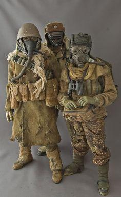Post Apoc...Noirmageddon The Iron Curtain Crew (new pics 7/18) - OSW: One Sixth Warrior Forum