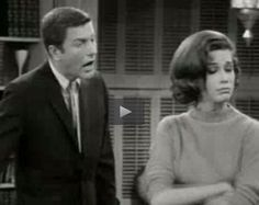 The world lost a great actress a few days ago.  Mary Tyler Moore brought laughter to millions of people, especially in her role as Dick Van Dyke's sweet-spirited wife, Laura. Initially relegated to simply kissing her husband hello at the door, she matured into a beloved comic in her own right, bringing the house down when