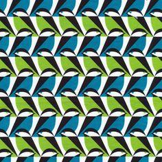 Sparro   Azul :: Mixteca by Eleanor Grosch for Cloud9 Fabrics