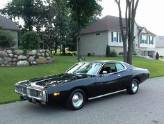 black 1971 charger