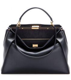Fendi - Sac en cuir Peekaboo Large Fendi Bags, Fendi Tote, Purse Styles, 812a81aba74