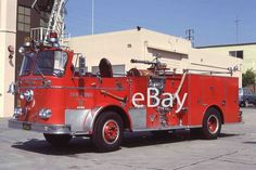 Fire Truck Photo San Diego Classic Open Cab Seagrave K Engine Apparatus Madderom