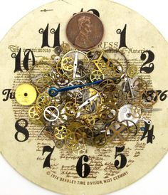 10g Old Watch Gears Wheels Cogs Parts by JewelrySupplyOutlets