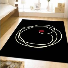 rumpus rug black and white and red black white rug home