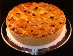 Appeltaart- this is the real Dutch Apple Pie