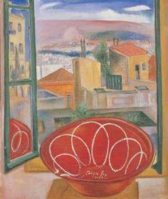 spyros vassiliou Painter Artist, Artist Art, Modern Art, Contemporary Art, Greek Paintings, Mediterranean Art, 10 Picture, Greek Art, Conceptual Art