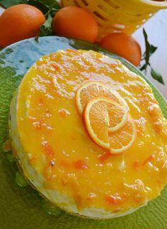 Τούρτα cheesecake πορτοκάλι! Cheesecakes, Camembert Cheese, Biscuits, Sweet Tooth, Sweets, Desserts, Recipes, Food, Pies