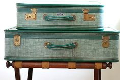 American Tourister Vintage,Providence luggage@thehouseofoliver#vintage#home decor#vacation$75