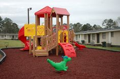 The Opelika Housing Authority in Alabama now has a new playground for their kids! On December 2nd, a fire was set to the former playground causing several thousand dollars in damage. Thanks to The Housing Authority & a beautiful install by Spencer Creek Recreation, The kids of Opelika can now enjoy unlimited hours of play and exercise on their new Playtopia Play Structure! More photos in Album...Photos by Don Murphy