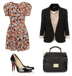 A Carrie Bradshaw inspired outfit.