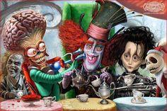 Tim Burton characters