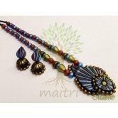handmade-designer-terracotta-jewelry-big-set-tsd509  www.maitricrafts.com https://www.facebook.com/maitricrafts.maitri