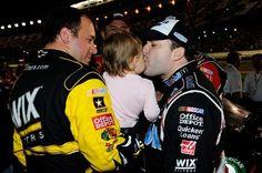 Tony Stewart Girlfriend Krista Kiss   tony stewart kiss ryan newman daughter nascar daytona   The Final Lap ...