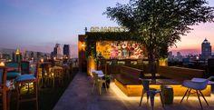 Un rooftop cool à Bangkok : le très hipster Gramercy Park !