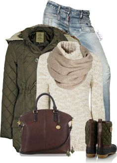 Outfits Ideas de Polyvore para Invierno 13