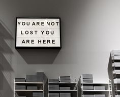 not lost