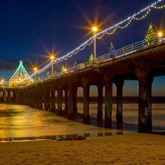Manhattan Beach Pier California #ManhattanBeachPier #California #HeathrowGatwickCars.com   heathrowgatwickcars.com via Instagram http://ift.tt/2hKIQ9Z