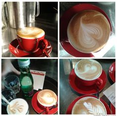 "Viennese coffee culture: ""Melange"" at Rochus #Vienna, coffee house images by Barista Marlene Prock"